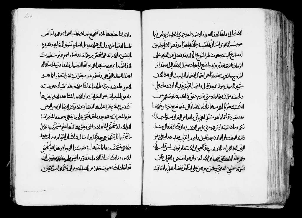 Arabic Manuscripts 303. Commentary (Epp. Hebrews)