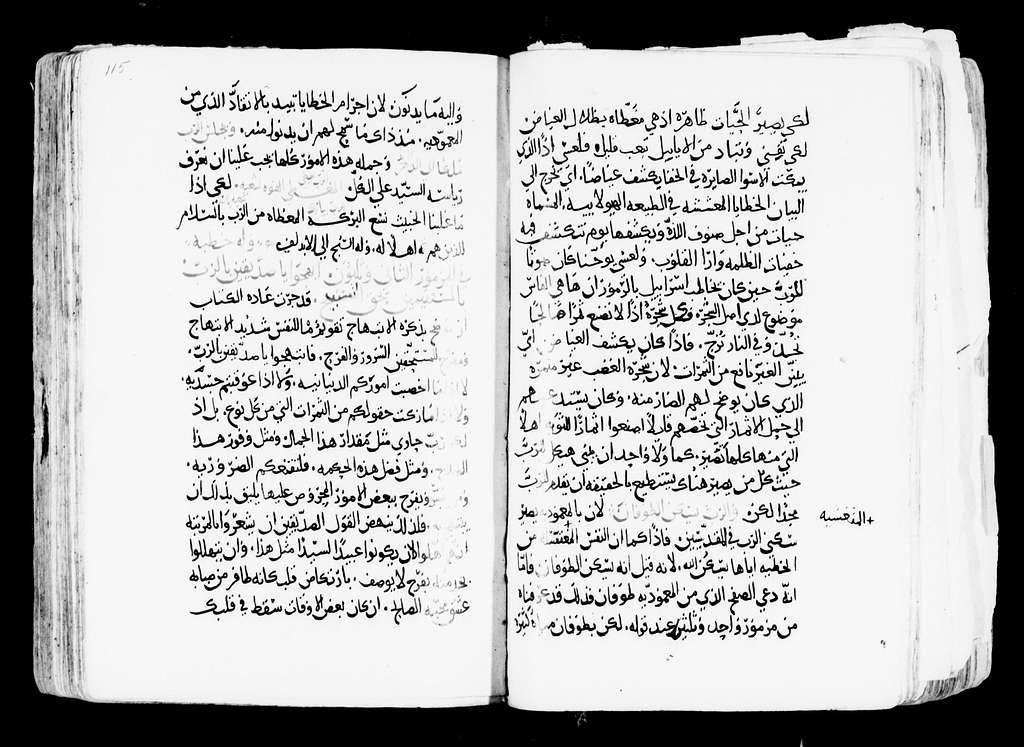 Arabic Manuscripts 271. Psalms Commentary
