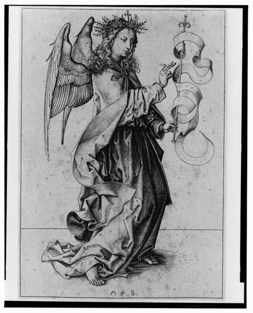 [The Angel of the Annunciation] / MS.