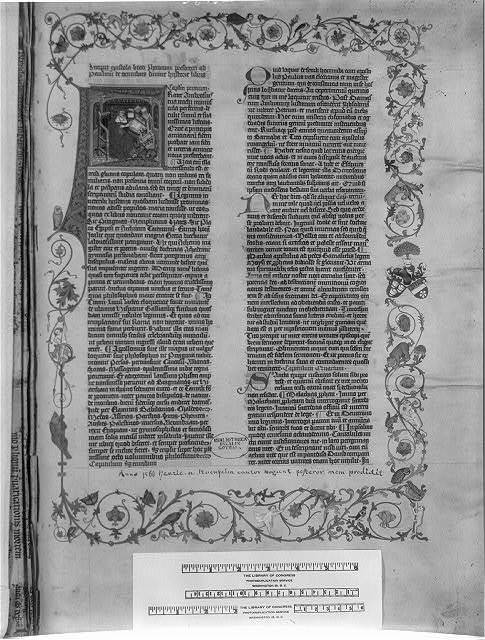 "Bible. Manuscripts. Latin. Biblia latina. April 4, 1452-July 9, 1453. ""Giant Bible of Mainz"""