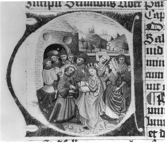 Illumination of Solomon and Sheba - Old Testament I