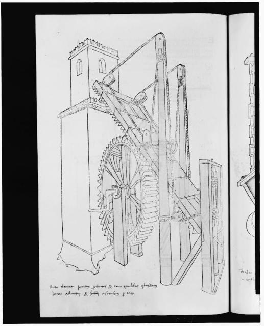 [Mechanical device for scaling towers]