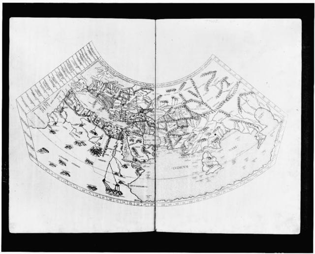 [World map by Ptolemy]