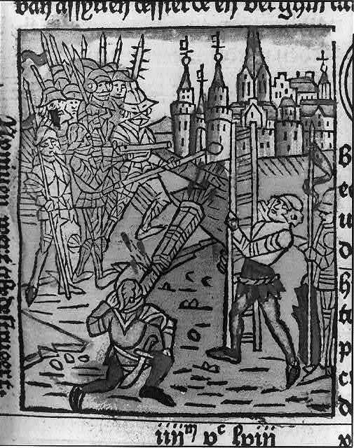 Woodcut in Werner Rolevinck, Fasciculus Temporum
