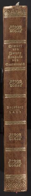 Historie von Herzog Leopold und seinem Sohn Wilhelm von Österreich.