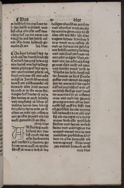 Concilium zu Constanz.