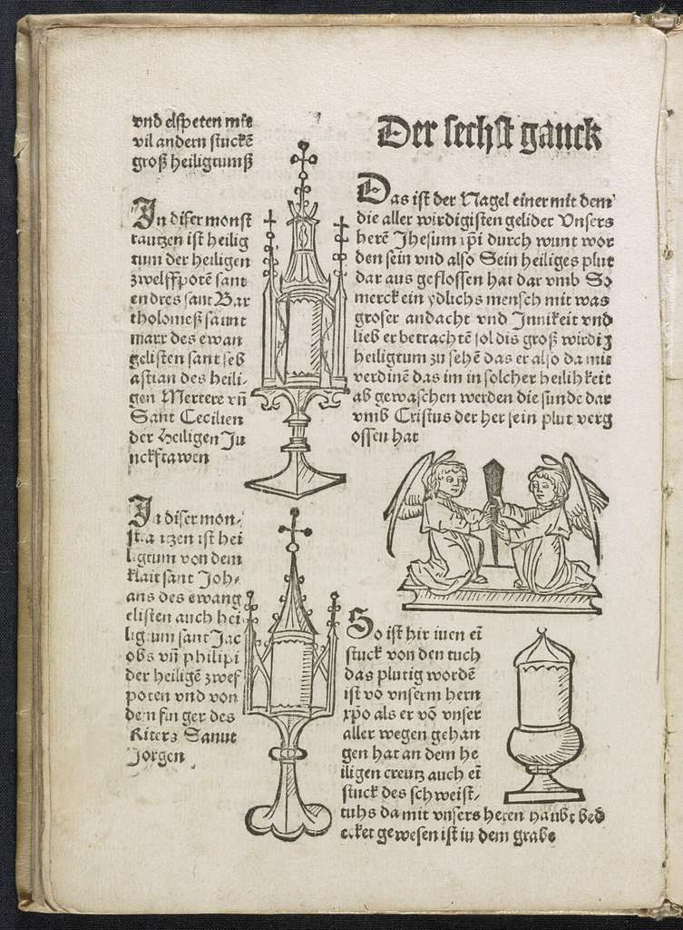 In disem Puchlein stet verczeichet das hochwirdig Heiltum, das man so pfligt alle Mal vber siben Jare ein Mal zu Bamberg zu weisen