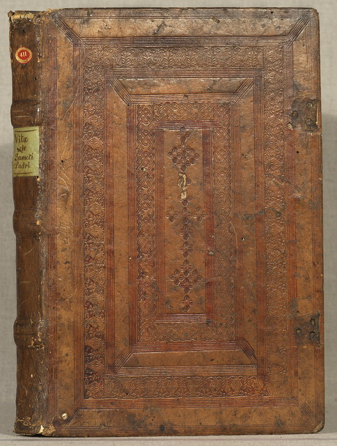[Vitae Patrum. Italian. [from old catalog]]Uita di Sancti Padri vulgare historiata.Venice, Joannes Alvisius, 18 Mar. 1497.