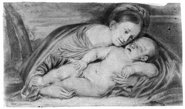 [Madonna and child]