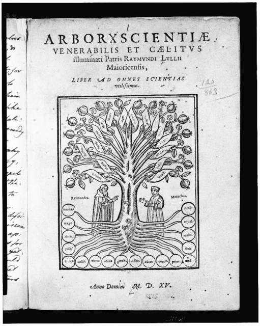 [Title page with illustration showing the tree of knowledge]