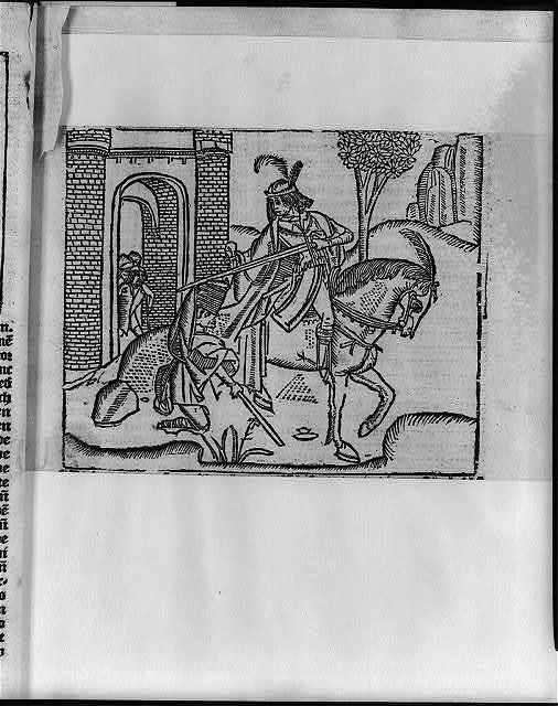 St. Martin dividing his cloak