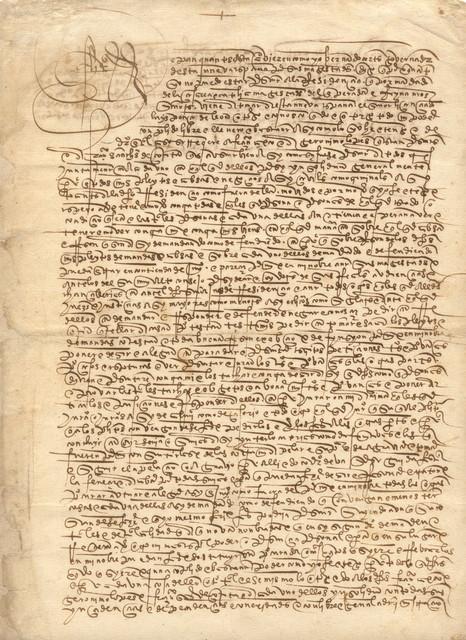 Hernán Cortés power of attorney, 1526.