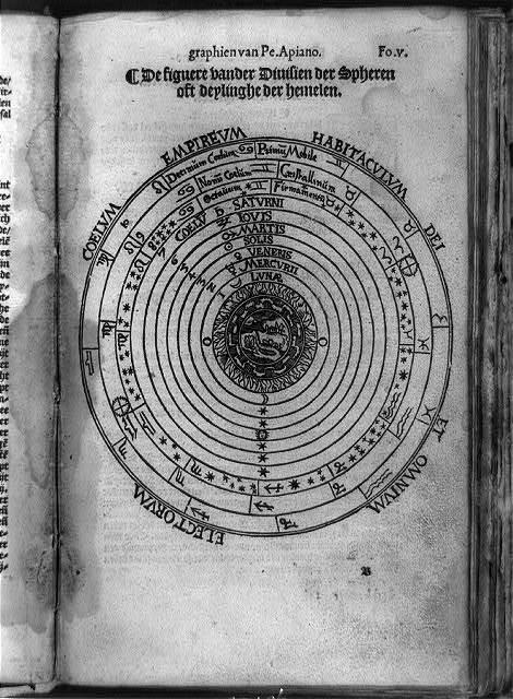 De figuere vander divisien der spheren ... / graphien van Pe. Apiano.