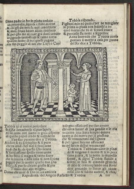 La rapresentatione del angelo Rafaello i Tobbia.