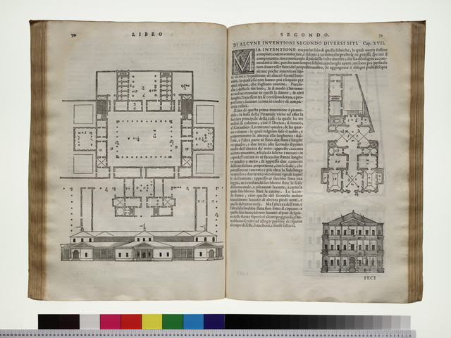 I quattro libri dell' architettura, ne' quali, dopo un breue trattato de' cinque ordini ..