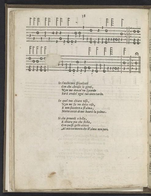 La  nobiltà di Roma versi in lode di cento gentildonne romane et le vilanelle à tre voci