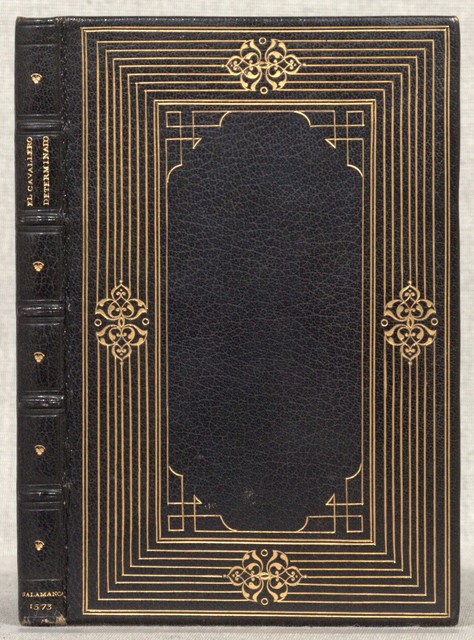 El cavallero determinado,Le chevalier délibré. SpanishSalamanca, P. Laso, 1573.118 l. illus. 20 cm.