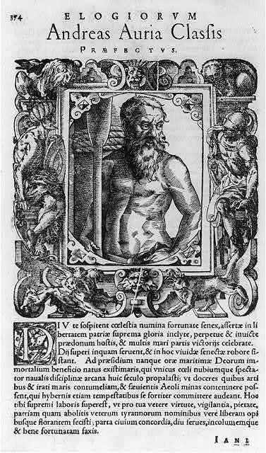 Elogiorum - Andreas Auria Classis prospectus