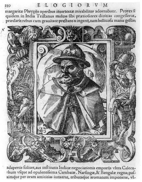 Triastao da Cunha, 1460?-1540