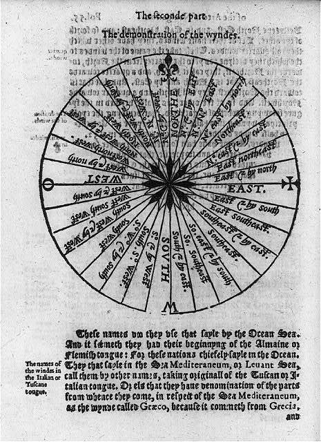 Navigational charts & designs: The demonstration of the wyndes