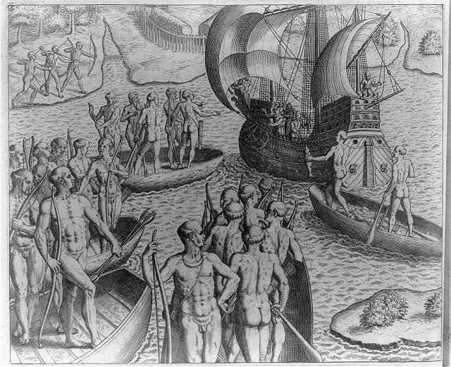 A ship arrives from Brickioka looking for Johannes Staden, the prisoner