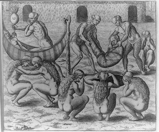 Jeppipo Wasu, the king of the tribe and many of his kin become very ill