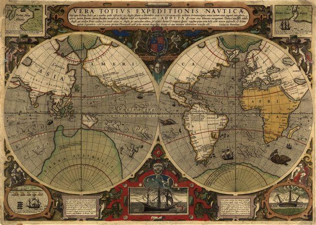 Vera totius expeditionis nauticæ : descriptio D. Franc. Draci ... /