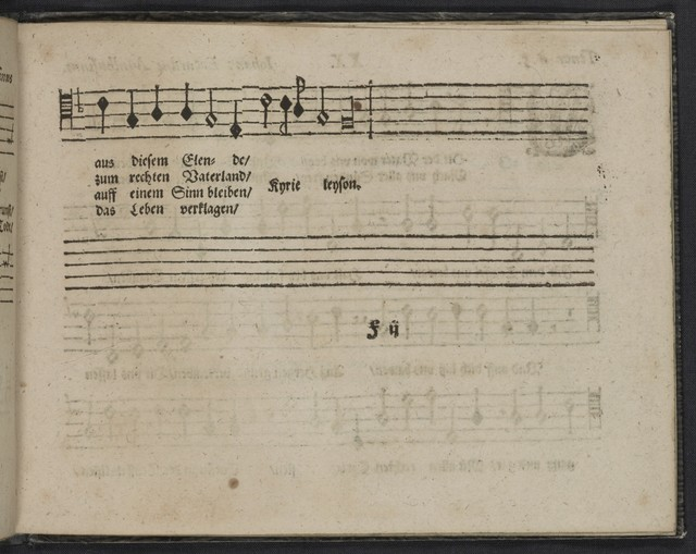 Der  erste Theil geistlicher Lieder