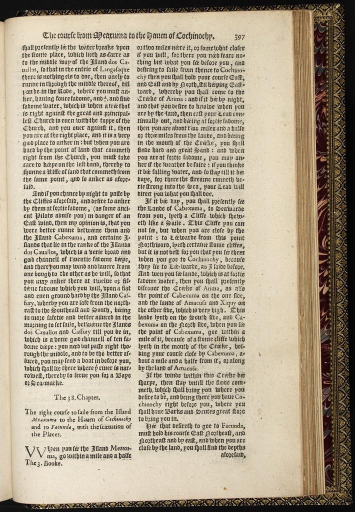 Iohn Huighen van Linschoten his Discours of voyages into ye Easte & West Indies