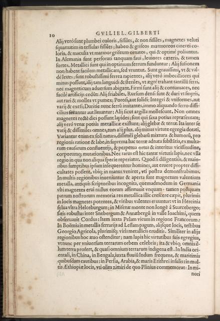 Guilielmi Gilberti Colcestrensis, medici londinensis ...