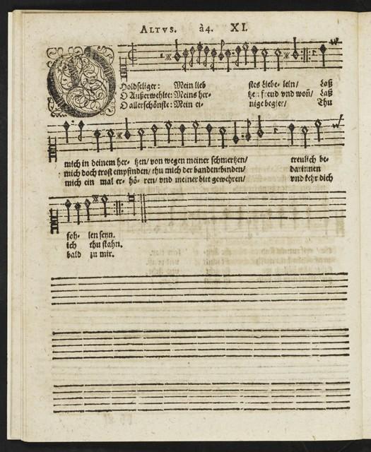 Musicalischer Bergkreyen in welchen allweg derTenor zuvor derst intonirt, in contrapuncto colorato auff vier Stim[men] gesetzt
