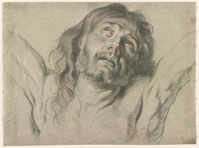 [Head of Christ on the cross]