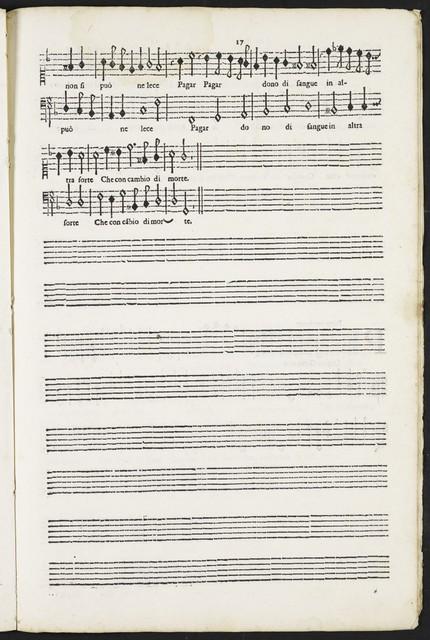 Canti spiritvali a vna, dve, et tre voci, appropriati per cantare, & sonare nel clauicembalo, chittarone ó altro istromento : opera terza