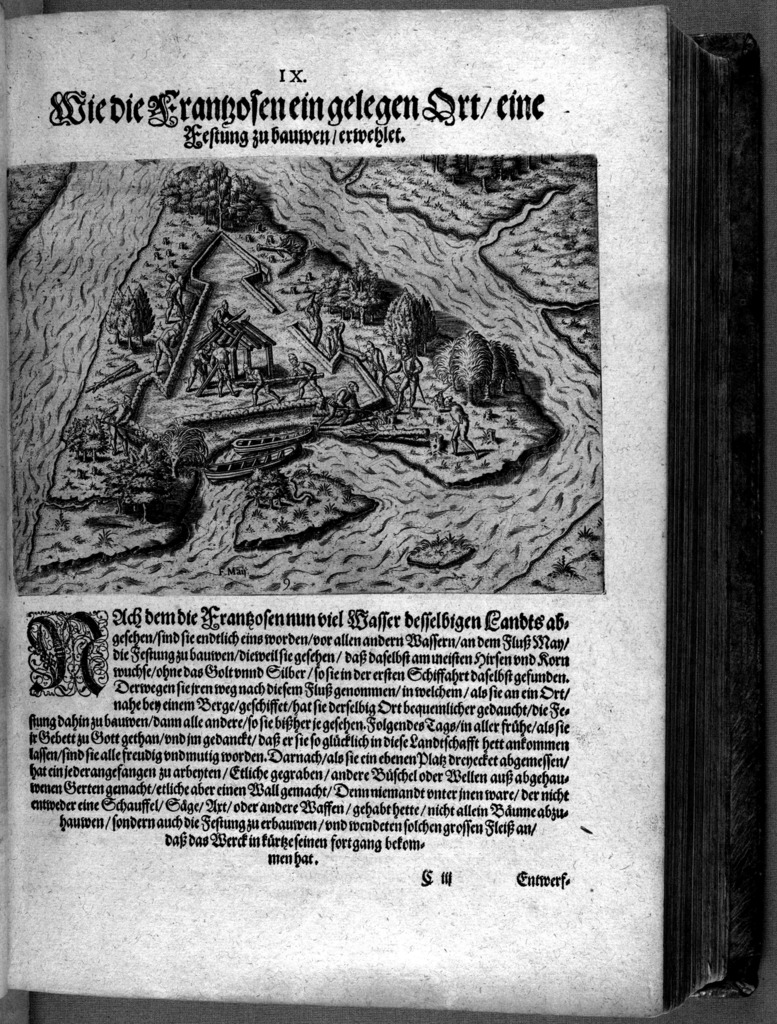 Das vierdte Buch von der Neuwen Welt. Oder Neuwe vnd gründtliche Historien,