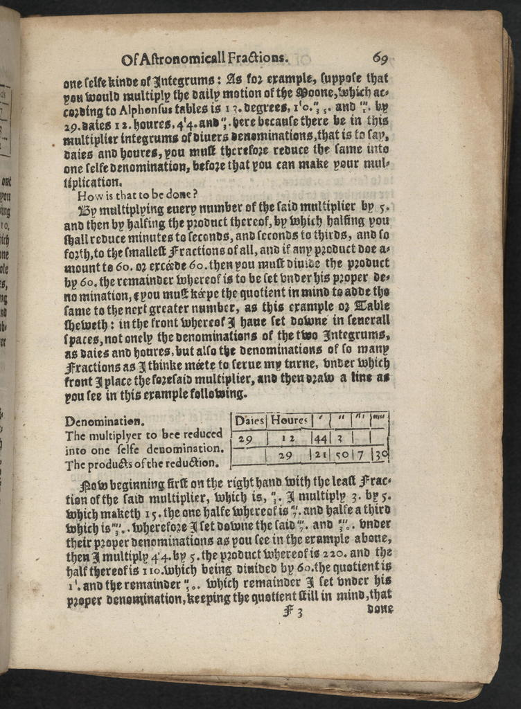 M. Blundeuile his exercises : containing eight treatises, the titles whereof are set down in the next printed page : which treatises are very necessarie to be read and learned of all young gentlemen, that haue not beene exercised in such disciplines, and yet are desirous to haue knowledge as well in cosmographie, astronomie, and geographie, as also in the art of nauigation, in which art it is impossible to profite without the helpe of these, or such like instructions : to the furtherance of which art of nauigation, the said M. Blundeuile specially wrote the said treatises ...