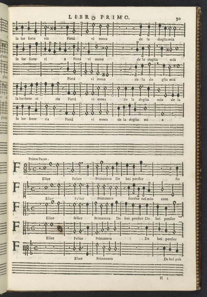 Partitura delli sei libri de' madrigali a 5 voci
