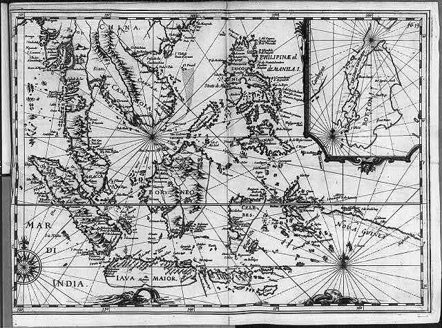 [Map of SE Asia, Dutch East Indies, & Philippines]