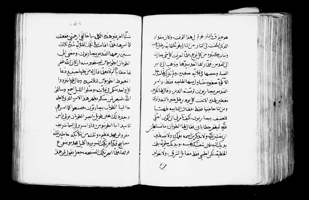 Arabic Manuscripts 565. Paradise of the Fathers