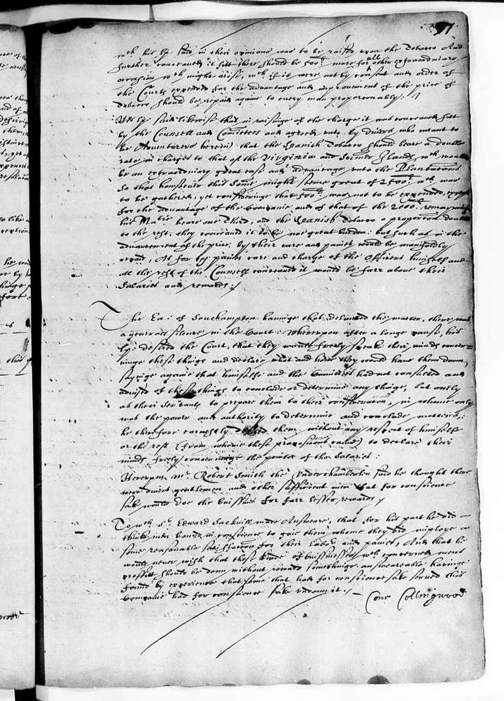 Virginia Company of London, 1622-24, Court Book Part B