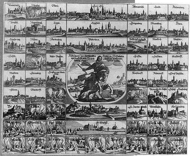 Thion Ville vera discrittione et ritrato di Thionuille fortezza in espugnabile, con l'asodio d'intorno de francesi, et con la dimostratione della presa