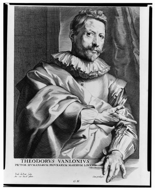 Theodorus Vanlonius / Paul. duPont, sculp. ; Ant. van Dyck, pinxit.
