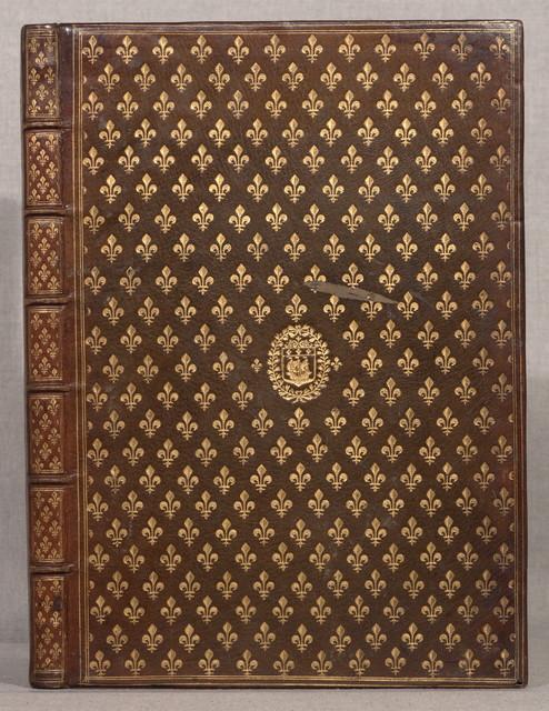 Eloges et discovrs svr la triomphante reception dv Roy [Lovis [XIII] en sa ville de Paris, apres la reduction de la Rochelle : accompagnez des figvres, tant des arcs de triomphe, que des autres preparatifs.Paris, P. Rocolet, 1629.180, 11 p. : plates, 37 cm.