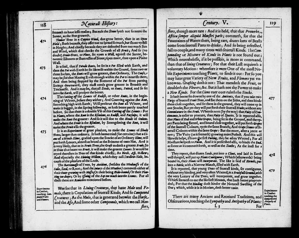 Sylva sylvarvm, or, A naturall historie in ten centvries