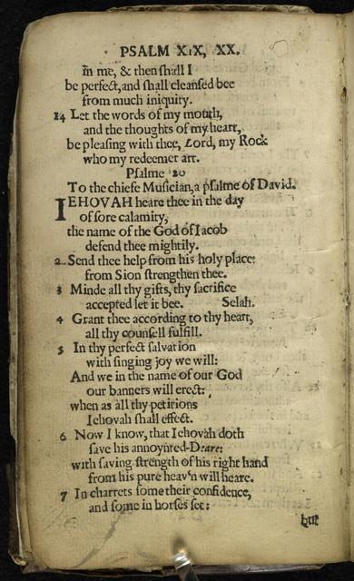 Whole booke of Psalmes faithfully translated into English metre.