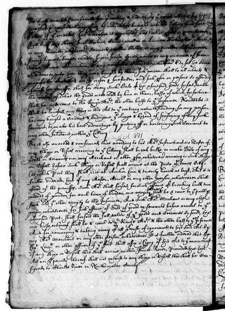 Virginia Council and Assembly, 1643-62, Laws
