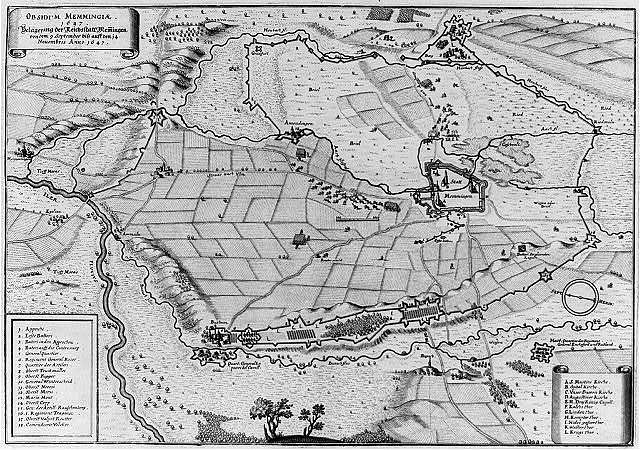 Obsidivm Memmingiae 1647 Belagerung der Reichsstatt Memmingen von dem 9. September biss auff den 14 Nouembris Anno 1647