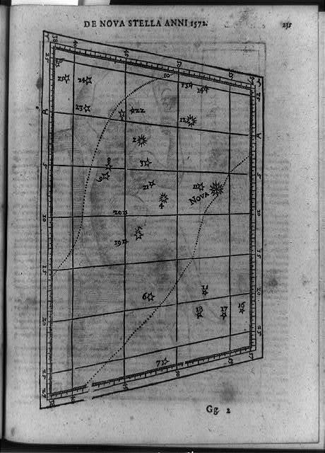 De Nova stella, anni 1572