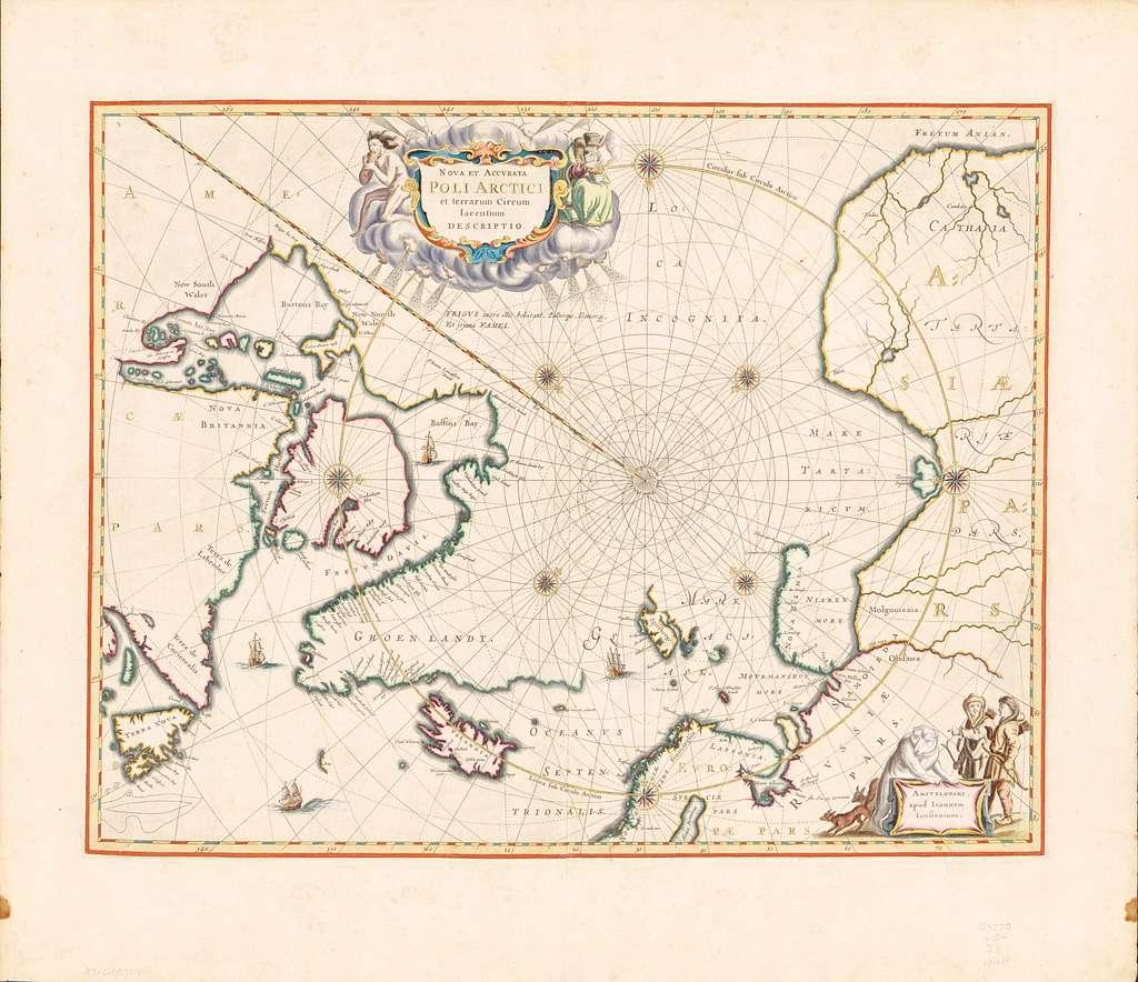 Nova et accvrata Poli Arctici : et terrarum circum iacentium descriptio
