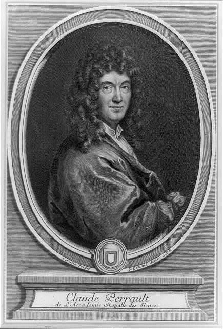 Claude Perrault de l'Accademie Royalle des Siences / Vercelin, pinxit ; G. Edelinck, sculp.