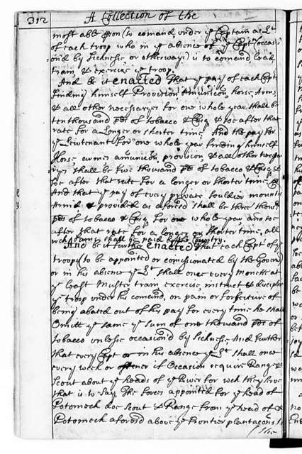 John Pervis, 1662-82, A Complete Collection of all the Laws of Virginia now in force